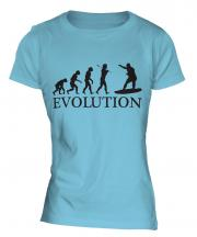 Surfer Evolution Ladies T-Shirt
