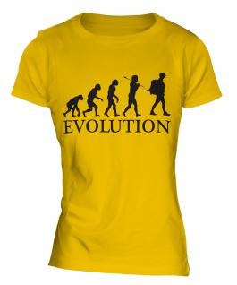Backpacker Evolution Ladies T-Shirt