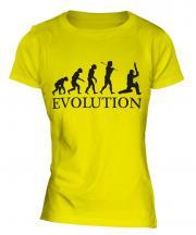 Cricketer Evolution Ladies T-Shirt