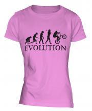 Bmx Evolution Ladies T-Shirt