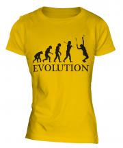 Tennis Player Evolution Ladies T-Shirt