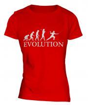 Fencing Evolution Ladies T-Shirt
