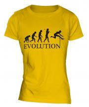 Hurdler Evolution Ladies T-Shirt
