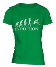 Hurdler Evolution Ladies T-Shirt