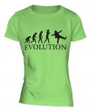 Clown Evolution Ladies T-Shirt
