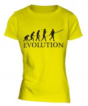 Pole Vault Evolution Ladies T-Shirt