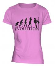 Abseiling Evolution Ladies T-Shirt