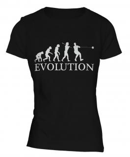 Hammer Throw Evolution Ladies T-Shirt