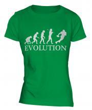 American Football Evolution Ladies T-Shirt