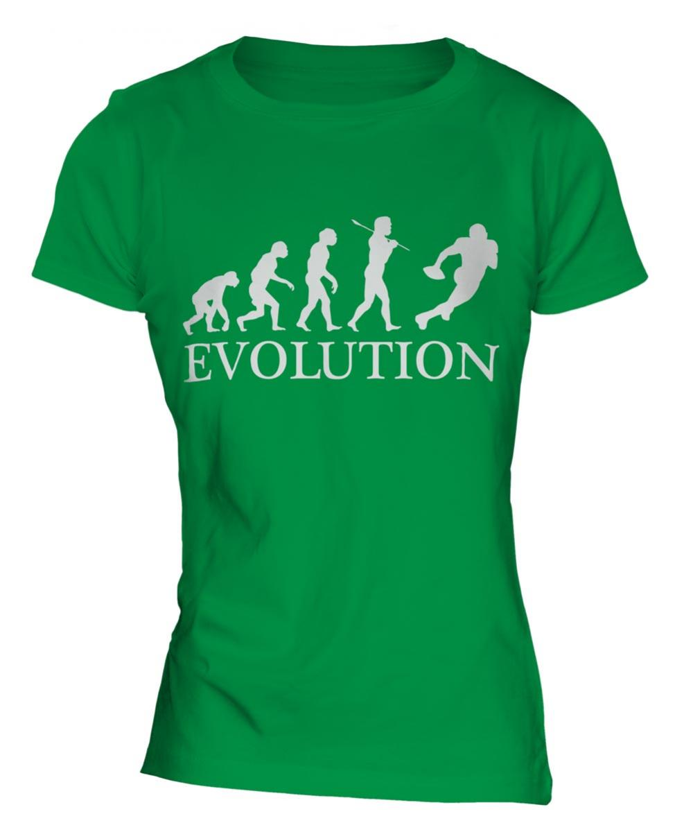 8c622beb American Football Evolution Ladies T-Shirt