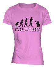 Us Cop Evolution Ladies T-Shirt