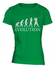 Classic Golfer Evolution Ladies T-Shirt