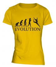 Artistic Gymnastics Evolution Ladies T-Shirt