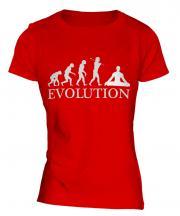 Yoga Evolution Ladies T-Shirt
