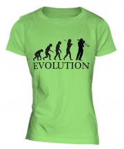 Trombone Player Evolution Ladies T-Shirt