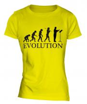 Orchestra Conductor Evolution Ladies T-Shirt