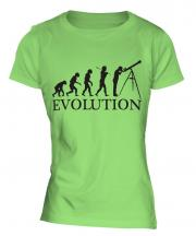 Astronomy Evolution Ladies T-Shirt