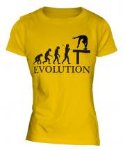 Balance Beam Evolution Ladies T-Shirt