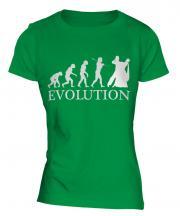 Waltz Dancing Evolution Ladies T-Shirt