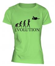 Skydiving Evolution Ladies T-Shirt