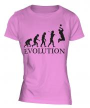 Volleyball Evolution Ladies T-Shirt