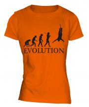 Bungee Jump Evolution Ladies T-Shirt