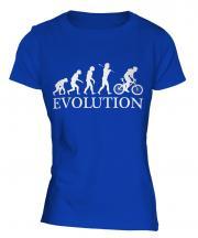 Mountain Bike Evolution Ladies T-Shirt
