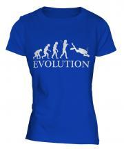 Underwater Photography Evolution Ladies T-Shirt