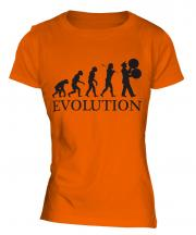 Marching Band Evolution Ladies T-Shirt