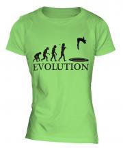 Trampoline Evolution Ladies T-Shirt