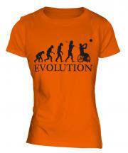 Wheelchair Basketball Evolution Ladies T-Shirt