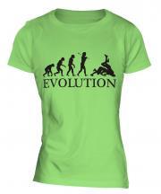 Wrestling Evolution Ladies T-Shirt