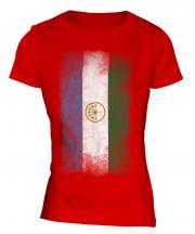 Bashkortostan Faded Flag Ladies T-Shirt