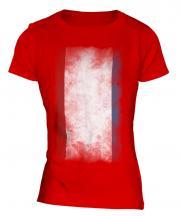 Crimea Faded Flag Ladies T-Shirt