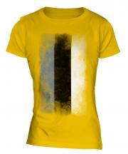 Estonia Faded Flag Ladies T-Shirt
