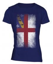 Herm Faded Flag Ladies T-Shirt