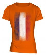 Los Altos Faded Flag Ladies T-Shirt