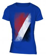 Sealand Faded Flag Ladies T-Shirt