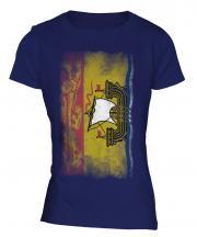 New Brunswick Faded Flag Ladies T-Shirt