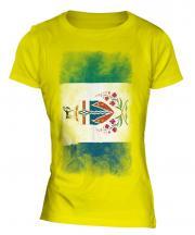 Yukon Faded Flag Ladies T-Shirt