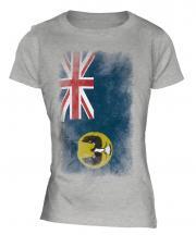 South Australia Faded Flag Ladies T-Shirt