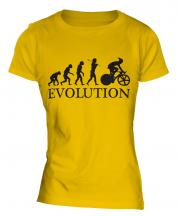 Cycle Racing Evolution Ladies T-Shirt
