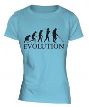 Metal Detector Evolution Ladies T-Shirt