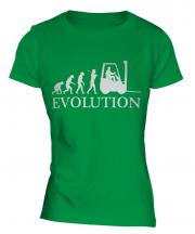 Forklift Driver Ladies T-Shirt