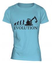Excavator Evolution Ladies T-Shirt