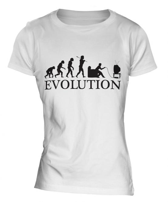 Gamer Evolution Ladies T-Shirt