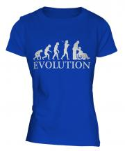 Care Worker Evolution Ladies T-Shirt