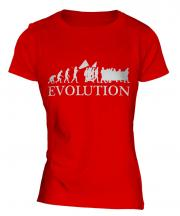 Protest March Evolution Ladies T-Shirt