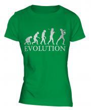 Rhythmic Gymnastics Ball Evolution Ladies T-Shirt