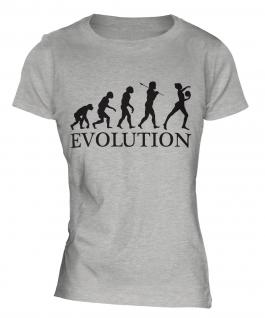 Rhythmic Gymnastics Ball Evolution Ladies T-Shirt